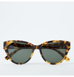 Henrietta Sunglasses in Light Tortoise