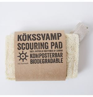 Natural Scouring Pads Set of 2