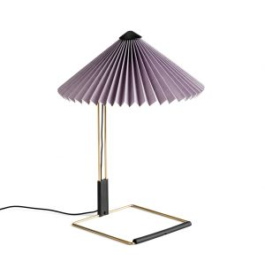 Small Matin Table Lamp in Lavender