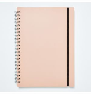 A4 Lined Studio Notebook in Plaster