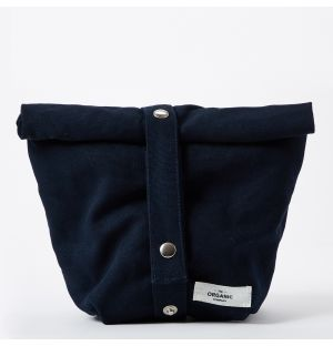 Organic Cotton Lunch Bag in Blue