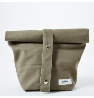 Cotton Lunch Bag in Clay