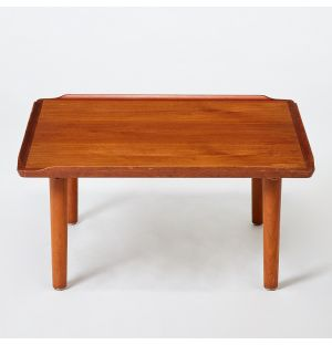 Vintage Square Coffee Table in Teak