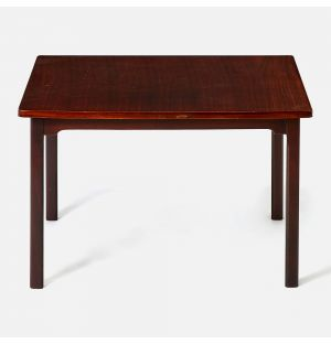 Vintage Italian Coffee Table in Rosewood