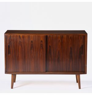Small Vintage Danish Sideboard in Rosewood
