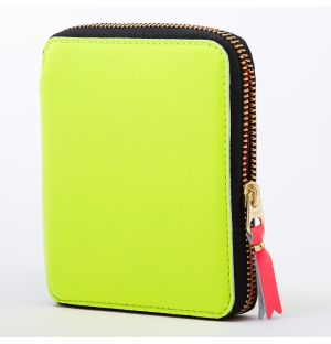 Super Fluo Wallet in Yellow