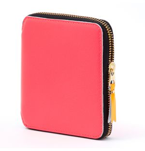 Super Fluo Wallet in Pink