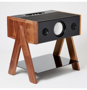 Exclusive Cube Speaker in Noir