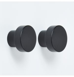 Hobson Knob in Signal Black Set of 2