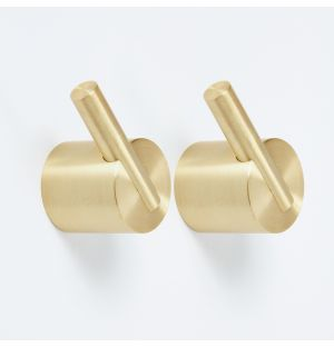 Colchester Handle in Brass Set of 2