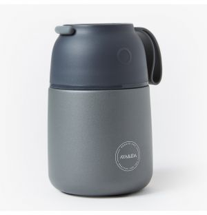 Food'ie Lunch Box in Grey