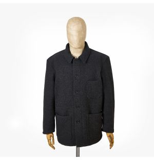 Men's No.4 Double Face Workwear Jacket in Anthracite