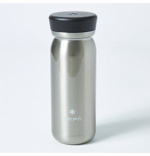 Large Vacuum Bottle in Stainless Steel