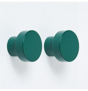 Exclusive Hobson Knob in Moss Green Set of 2