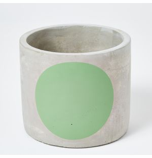 Exclusive Large Circle Pot in Green