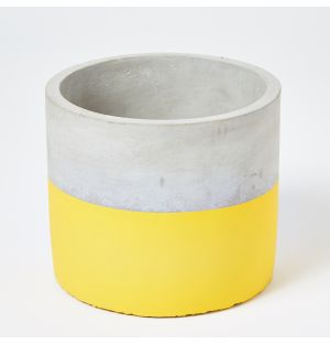 Exclusive Large Block Pot in Yellow