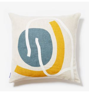 Kaito Shapes Cushion Cover in Natural 45cm x 45cm