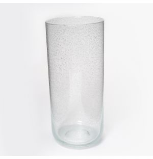 Large Bubble Vase in Clear