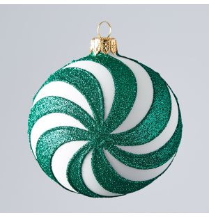 Spin Christmas Tree Decoration in Green