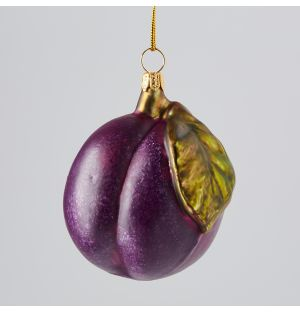 Plum Christmas Tree Decoration