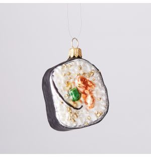 Sushi Roll Christmas Tree Decoration