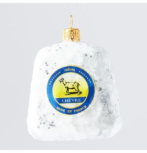 Chevre Cheese Christmas Tree Decoration