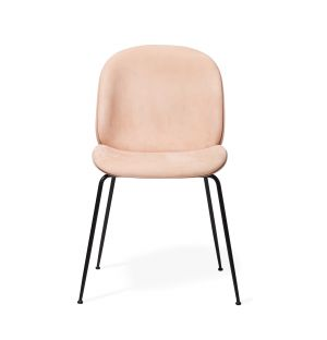 Beetle Chair in Chamois Leather & Sweet Pink Shell