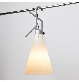 Limited Edition Mayday Lamp in Tumbled Natural Aluminium