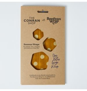 Exclusive Beeswax Bread Pack in Polka