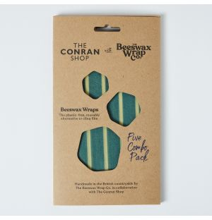 Exclusive Large Beeswax Kitchen Pack in Stripe