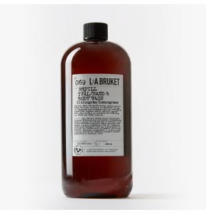 No.069 Hand & Body Wash Refill in Lemongrass