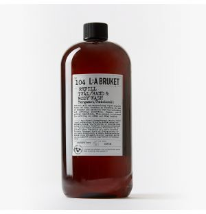 No.104 Hand & Body Wash Refill in Bergamot & Patchouli