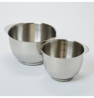 Margrethe Bowls in Stainless Steel