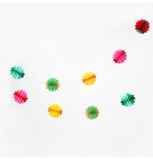 Ball Garland in Multicolour
