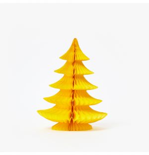 Curve Tree Decoration in Yellow