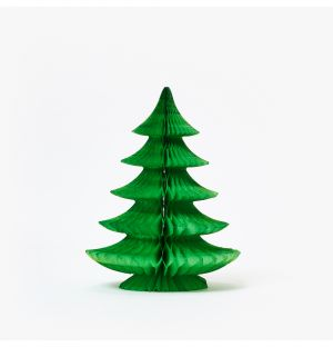 Curve Tree Decoration in Light Green