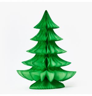 Large Curve Tree Decoration in Light Green