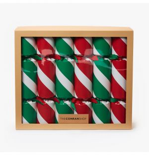 Stripes Jumbo Christmas Crackers