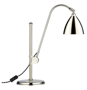 Limited Edition Bestlite BL1 Table Lamp in Nickel