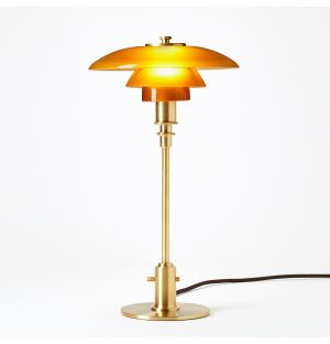 Limited Edition PH 2/1 Table Lamp in Amber
