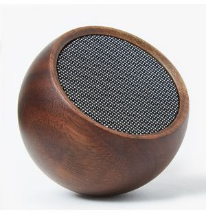 Tumbler Speaker in Walnut