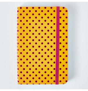 2021 Flock Daily Diary in Yellow & Purple