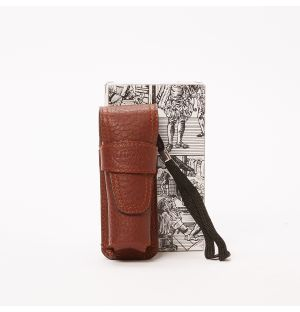 Leather Pocket Torch in Tan