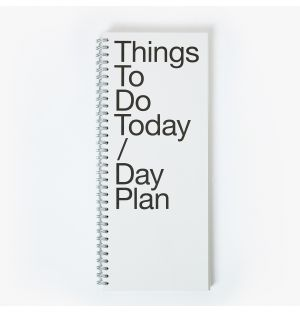 To Do Day Plan Notebook