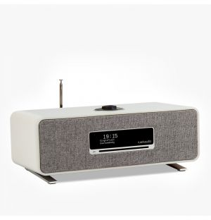 R3 Compact Music System in Soft Grey