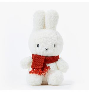 Wooly Miffy With An Orange Scarf