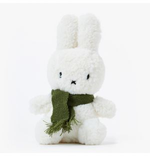 Wooly Miffy With A Green Scarf