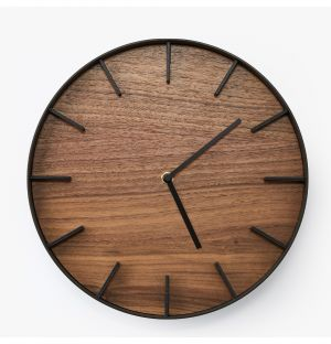 Rin Wall Clock in Black