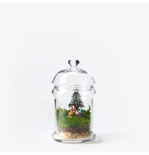 Exclusive Santa & Children Terrarium