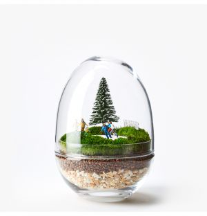 Exclusive Ice Skating Terrarium